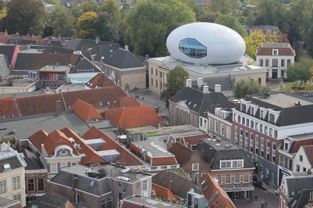 Zwolle bovenaanzicht